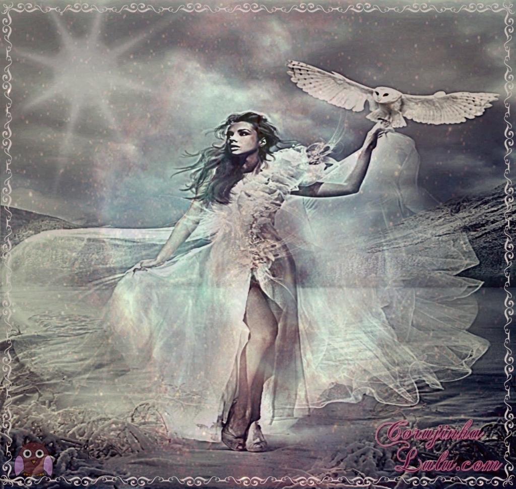 Coruja também representa a alma das mulheres