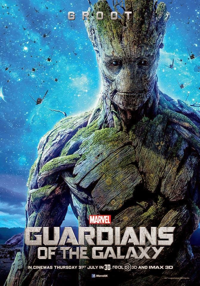 Poster / Cartaz do Groot