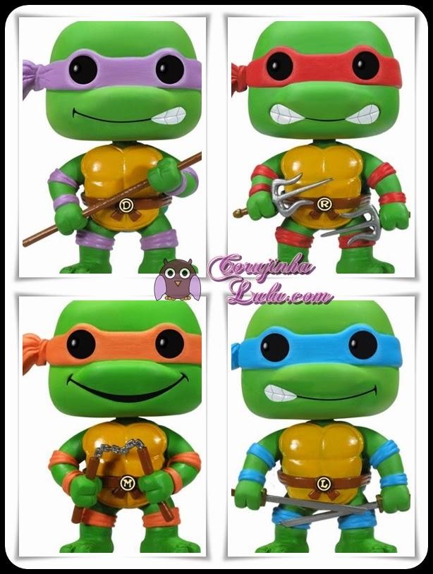 As Tartarugas Ninja Pop! Funko