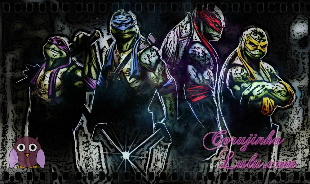 Donatello, Leonardo, Raphael e Michelangelo: As Tartarugas Ninja (Ninja Turtles)