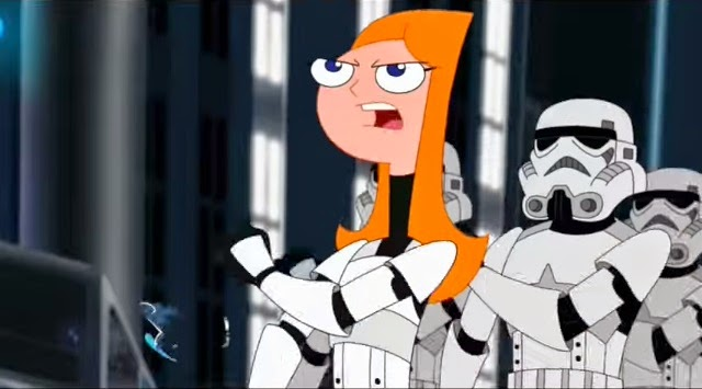 Candace no especial do Star Wars