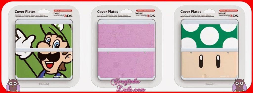 Cover Plates do New 3DS