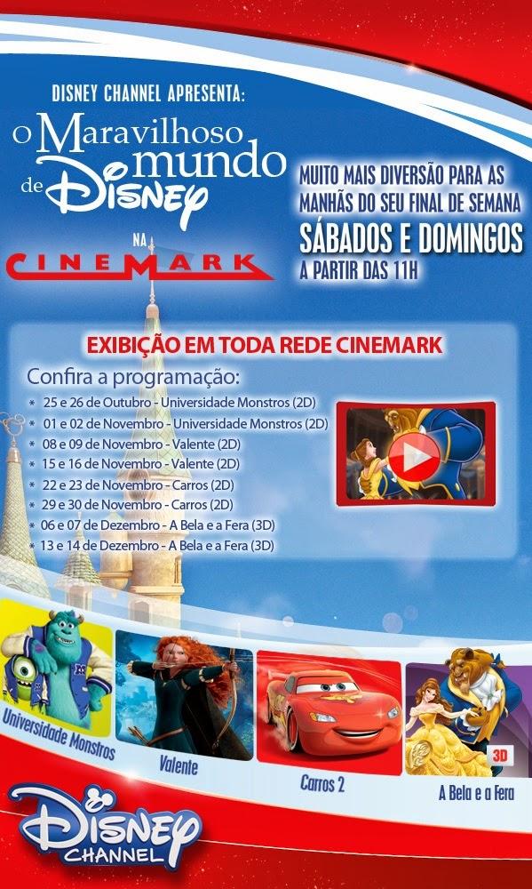 Reveja filmes Disney no Cinemark!
