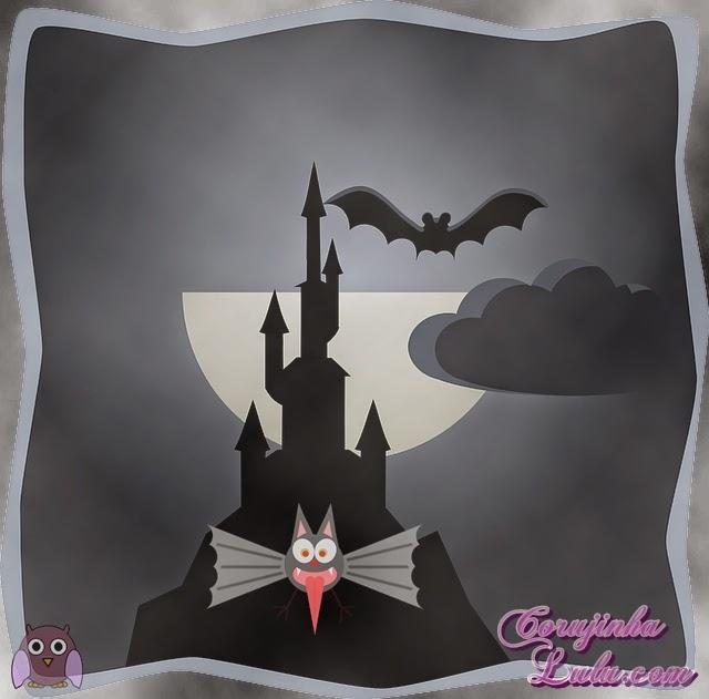 Dracula, morcego, castelo, escuridão