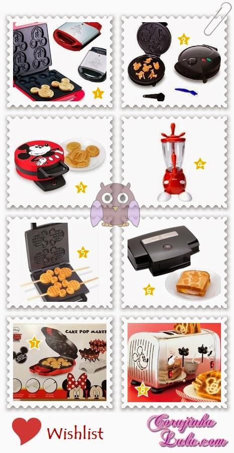 Wishlist small appliances: aparelhos eletrônicos Disney para cozinha