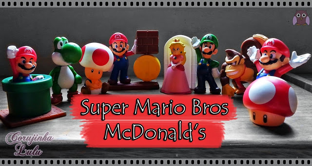 og:image Super Mario Bros Mc Lanche Feliz happy meal mcdonald's toys action figures figuras de acao