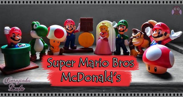 og:image Super Mario Bros Mc Lanche Feliz happy meal mcdonald's toys action figures figuras de acao