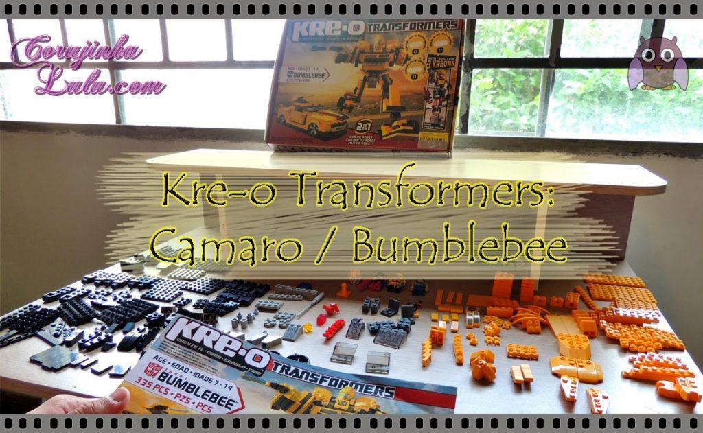 Kre-o Transformers: Camaro / Bumblebee | ©CorujinhaLulu.com