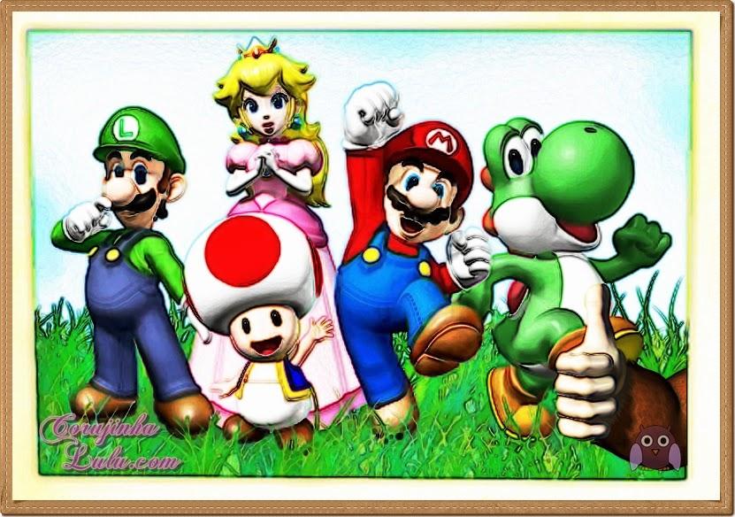 luigi, yoshi, peach, toad, mario, donkey kong, mcdonald's, mc lanche feliz