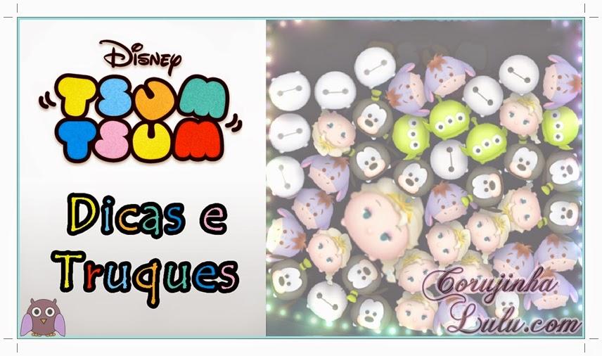 Dicas e truques para arrasar no game Tsum Tsum da Disney