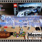 Lego Technic 42033 – Record Breaker Technic (125 peças)