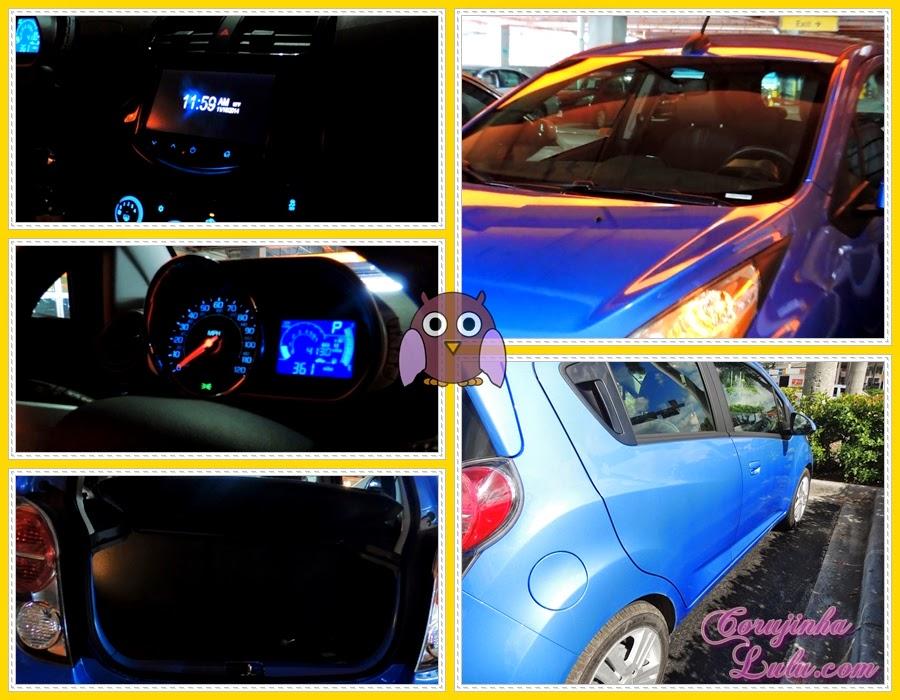 spark chevrolet 2015 aluguel carro miami orlando florida painel porta malas