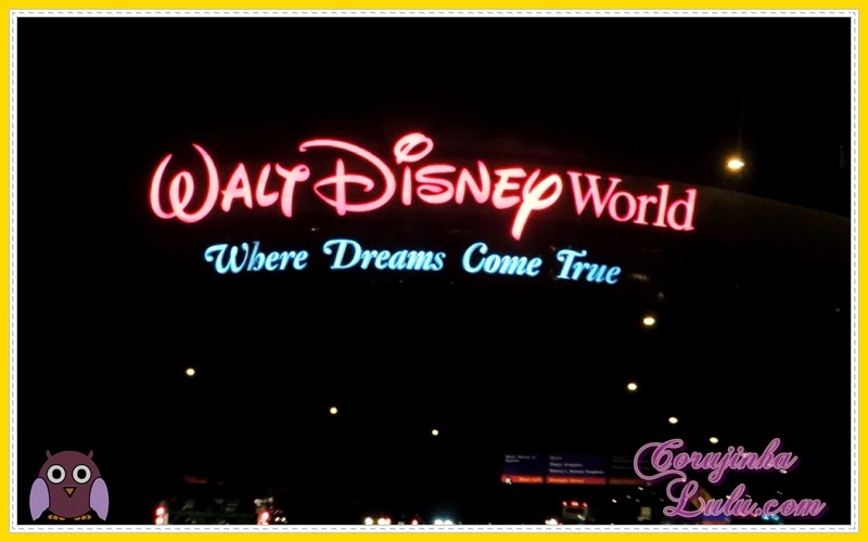 Walt Disney World - Where Dreams come True sonhos se realizam