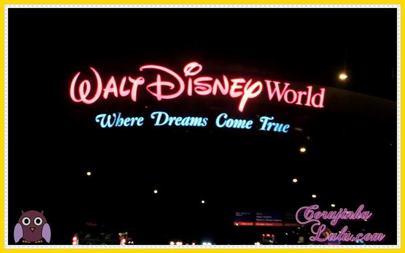 Walt Disney World - Where Dreams come True sonhos se realizam
