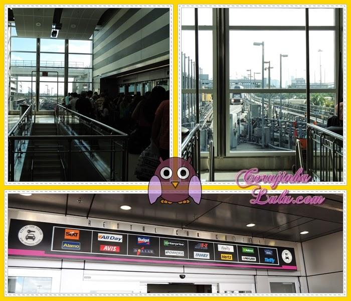 rental car center miami aeroporto sixt alamo hertz national dollar avis monorail monotrilho
