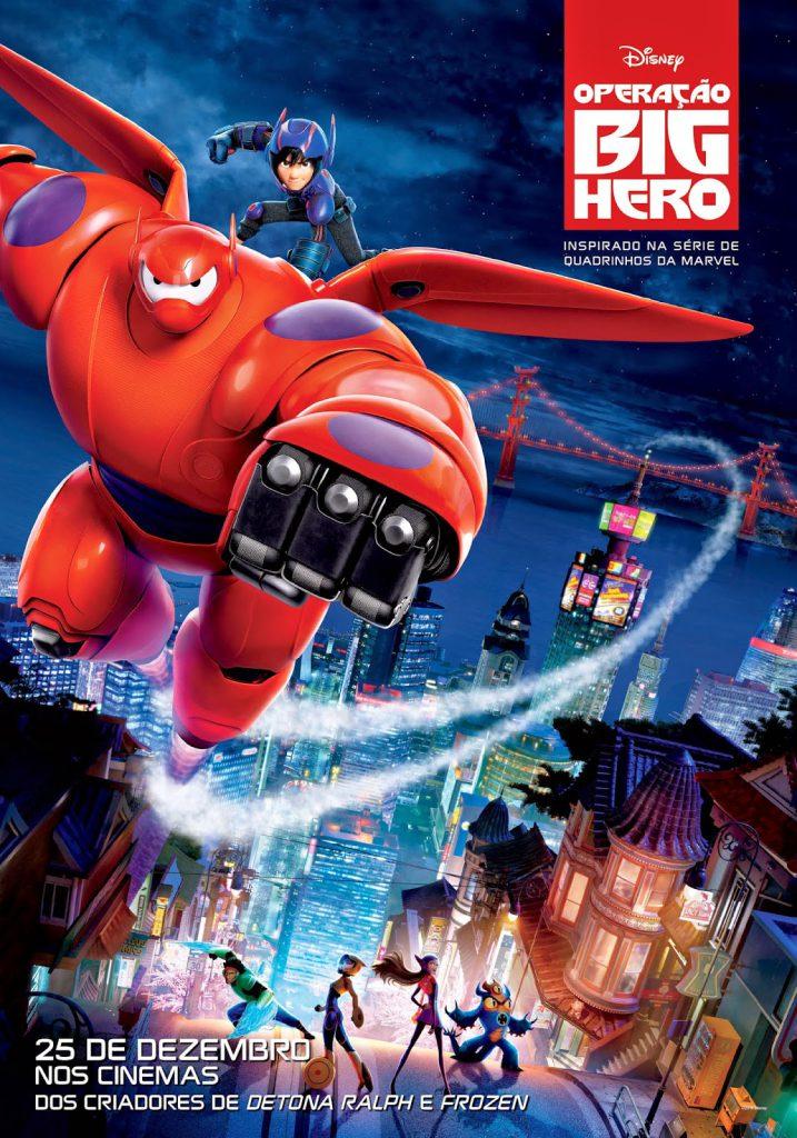 poster Big Hero 6 Operação Big Hero