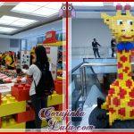 Brincando com Lego no Morumbi Shopping