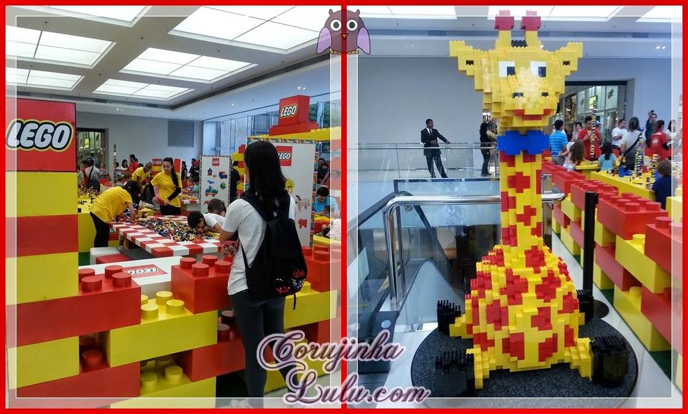 Brincando com Lego no Morumbi Shopping #morumbishopping #brincandocomlego
