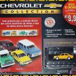 """Coleção Chevrolet: Carros brasileiros de ontem e hoje – """"Chevrolet Collection"""" da Editora Salvat"""