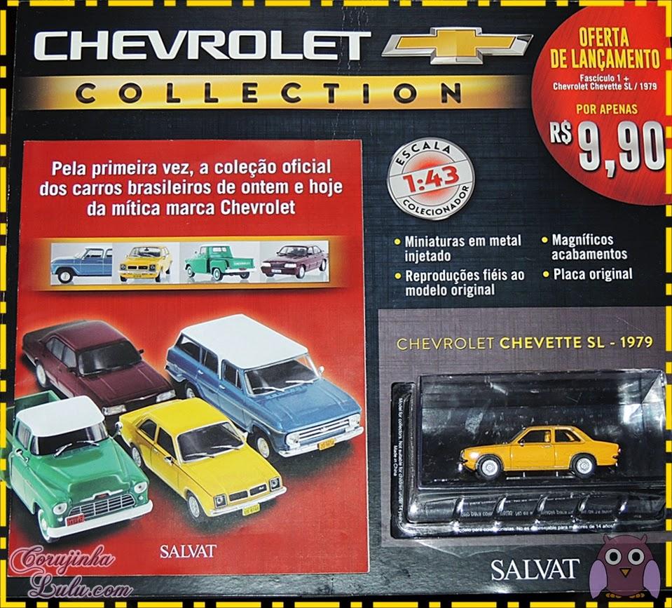 Chevrolet Collection Coleção Chevrolet: Carros brasileiros de ontem e hoje - Editora Salvat