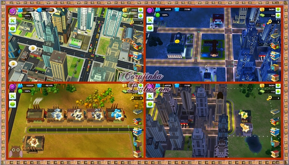 jogo game sim city build it app aplicativo celular android ios