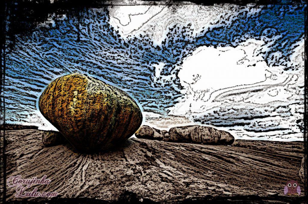Mensagem para reflexão: a rocha no caminho