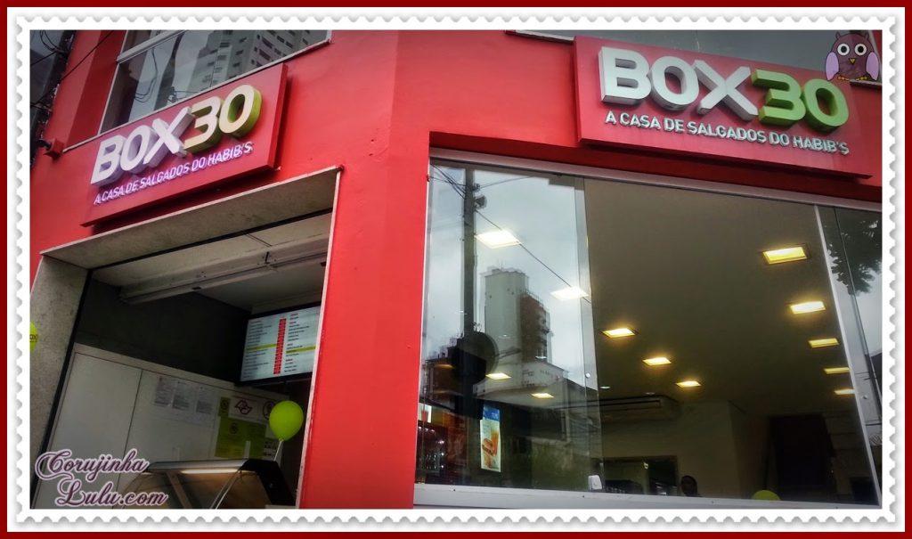 Box 30 - Falando de Bico Cheio ragazzo habib's habibs franquia salgados salgadinhos