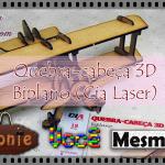 Quebra-cabeça 3D Biplano (Cia Laser)