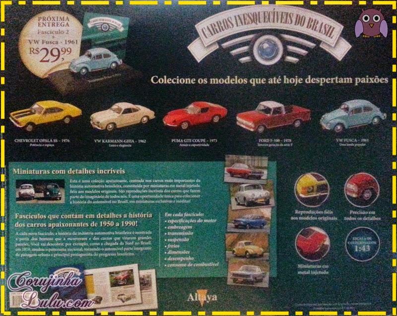 Carros Inesquecíveis do Brasil - Planeta DeAgostini