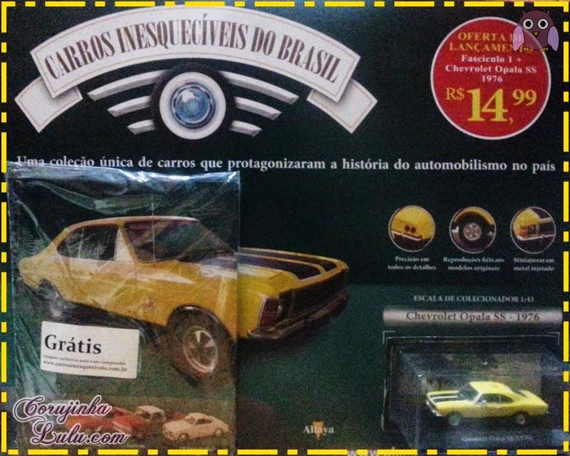 Carros Inesquecíveis do Brasil - Planeta DeAgostini carros antigos