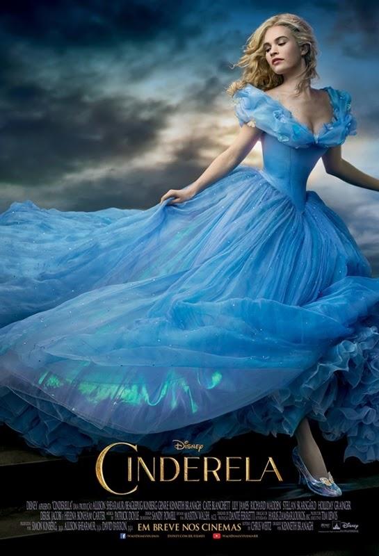 cinderela 2015 poster br brasil brasileiro brazil cinderella