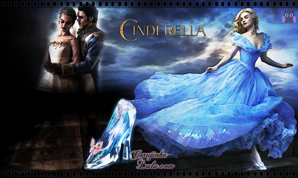 """""""Cinderela"""" 2015 - Resenha de Cinema movie Cinderella Cenicienta Sindirella Popelka"""