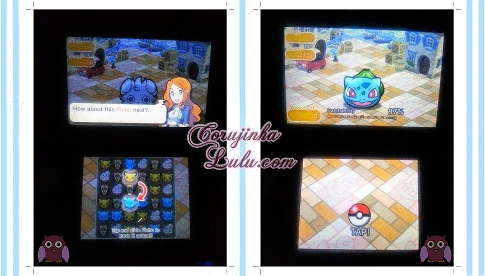 Gameplay do Pokémon Shuffle nintendo eshop gratis free gratuito jogo game nintendo 3ds pikachu