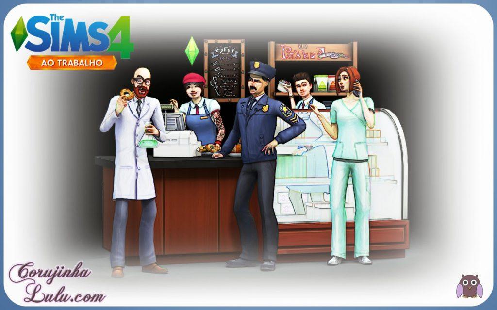 The Sims 4: Ao Trabalho Pacote de Expansão go to work ea games eletronic arts