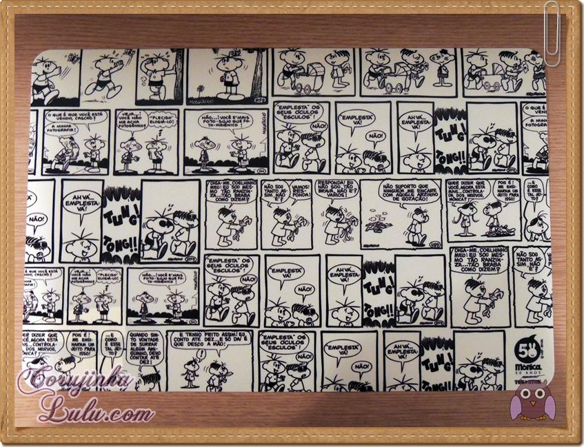 Coleção comemorativa 50 anos da Turma da Mônica na Tok Stok Tok&Stok mauricio de sousa cebolinha magali cascão jogo americano decoração louças tirinhas quadrinhos