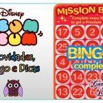 Novidades do game Tsum Tsum da Disney: Bingo e Dicas