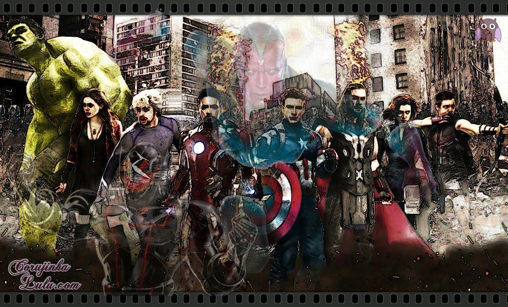 Vingadores 2 Era de Ultron Resenha de Cinema filme avengers age of ultron hulk bruce visão capitão américa steve romanoff viúva negra homem de ferro tony stark thor gavião arqueiro