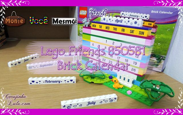 Lego Friends 850581 - Brick Calendar (140 peças) friends calendario calendar blocos de montar meninas | © corujinhalulu