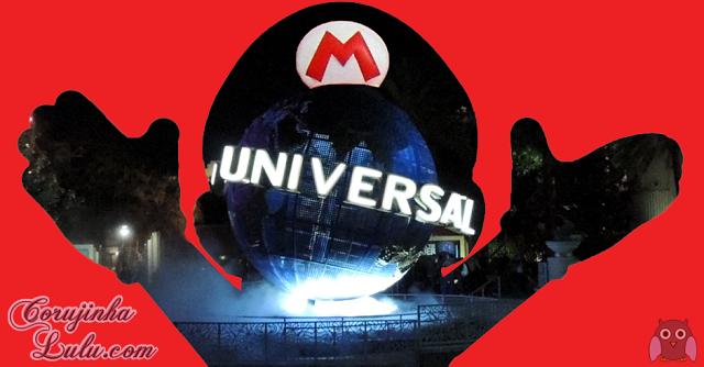 Parque de Diversão Diversões atrações atração da Nintendo com a Universal Studios Big N mario theme park luigi yoshi games game jogo jogos brinquedos parques montanha russa | ©CorujinhaLulu.com