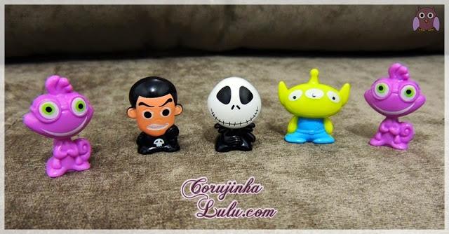 coleção gogos gogo gogo's panini ppi brasil disney pixar album de figurinhas brinquedo geloucos randy randal sid alien jack toy story universidade monstros sa