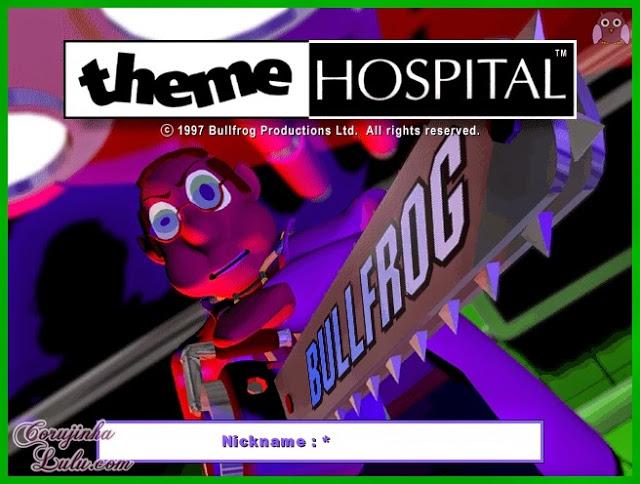 Game Nostalgia dos anos 90: Theme Hospital gameplay review resenha jogo simulador simulação pc origin ea electronic arts bullfrog productions