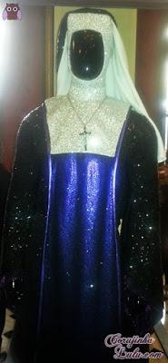 Figurino do musical Mudança de Hábito freira são paulo teatro musical musicais  ©CorujinhaLulu.com