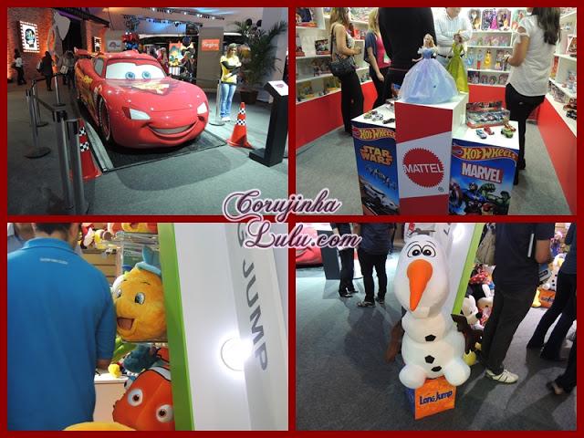 Expo Disney 2015 piar nemo linguado ariel pequena sereia carros mcqueen olaf princesas pelúcias bonecas cinderela | ©CorujinhaLulu.com