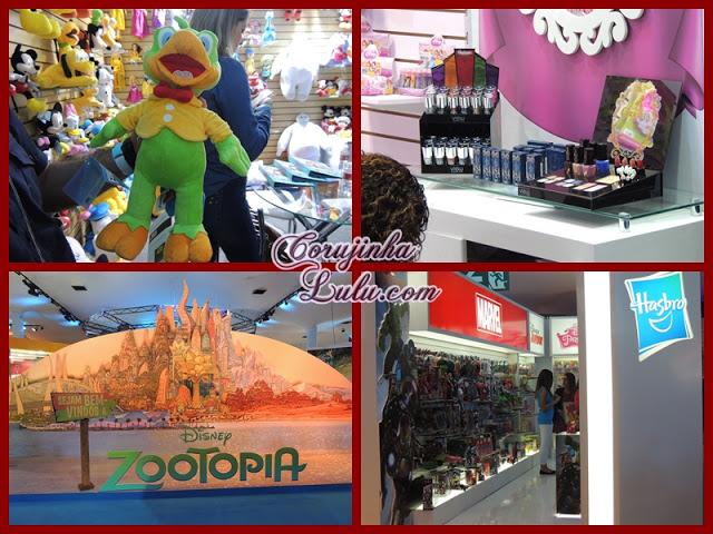 Expo Disney 2015cosméticos princesas zé carioca pelúcia zootopia marvel hasbro bonecos | ©CorujinhaLulu.com