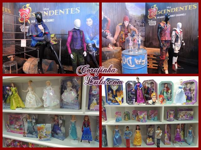 Expo Disney 2015 descendentes princesas figurino roupas bonecas bonecos vilão vilões | ©CorujinhaLulu.com