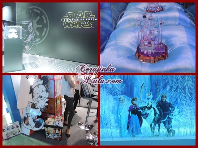 Expo Disney 2015 star wars cinderela castelo princesas minnie frozen olaf elsa anna  | ©CorujinhaLulu.com