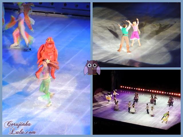A Pequena Sereia, Enrolados e A Princesa e o Sapo ariel sebastião flyn rider rapunzel tiana naveen | ©CorujinhaLulu.com