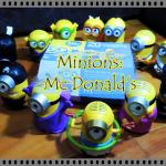 Coleção completa dos Minions Mc Lanche Feliz