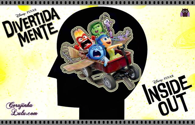 Divertida Mente - Resenha de Cinema filme divertidamente inside out disney pixar alegria raiva nojinho tristeza medo vice-versa vice versa joy anger disgust sadness fear