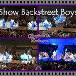 Show da turnê  dos Backstreet Boys no Brasil